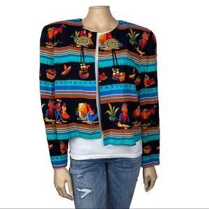 AC Sport Vintage Mexican Inspired Jacket